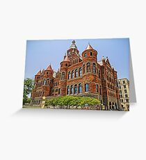 Old Red Courthouse - Dallas Texas USA Greeting Card