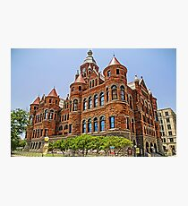 Old Red Courthouse - Dallas Texas USA Photographic Print