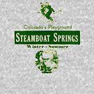 Steamboat Springs Colorado's Playground Vintage  by hilda74