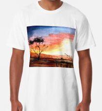 Sunset Vibes Long T-Shirt