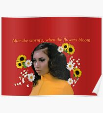 Kali Uchis//Bloom Poster