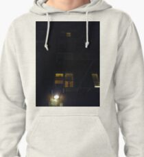 New York, Manhattan, Brooklyn, New York City, architecture, street, building, tree, car,   Pullover Hoodie