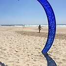 Solitary Person at Currumbin Beach by Robyn Williams
