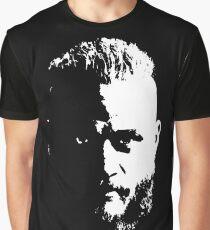 Ragnar von Wikingern Grafik T-Shirt