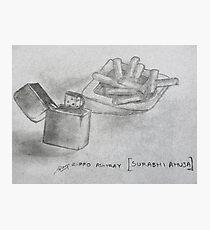 zippo ashtray Photographic Print