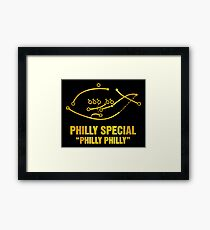 philly special Framed Print