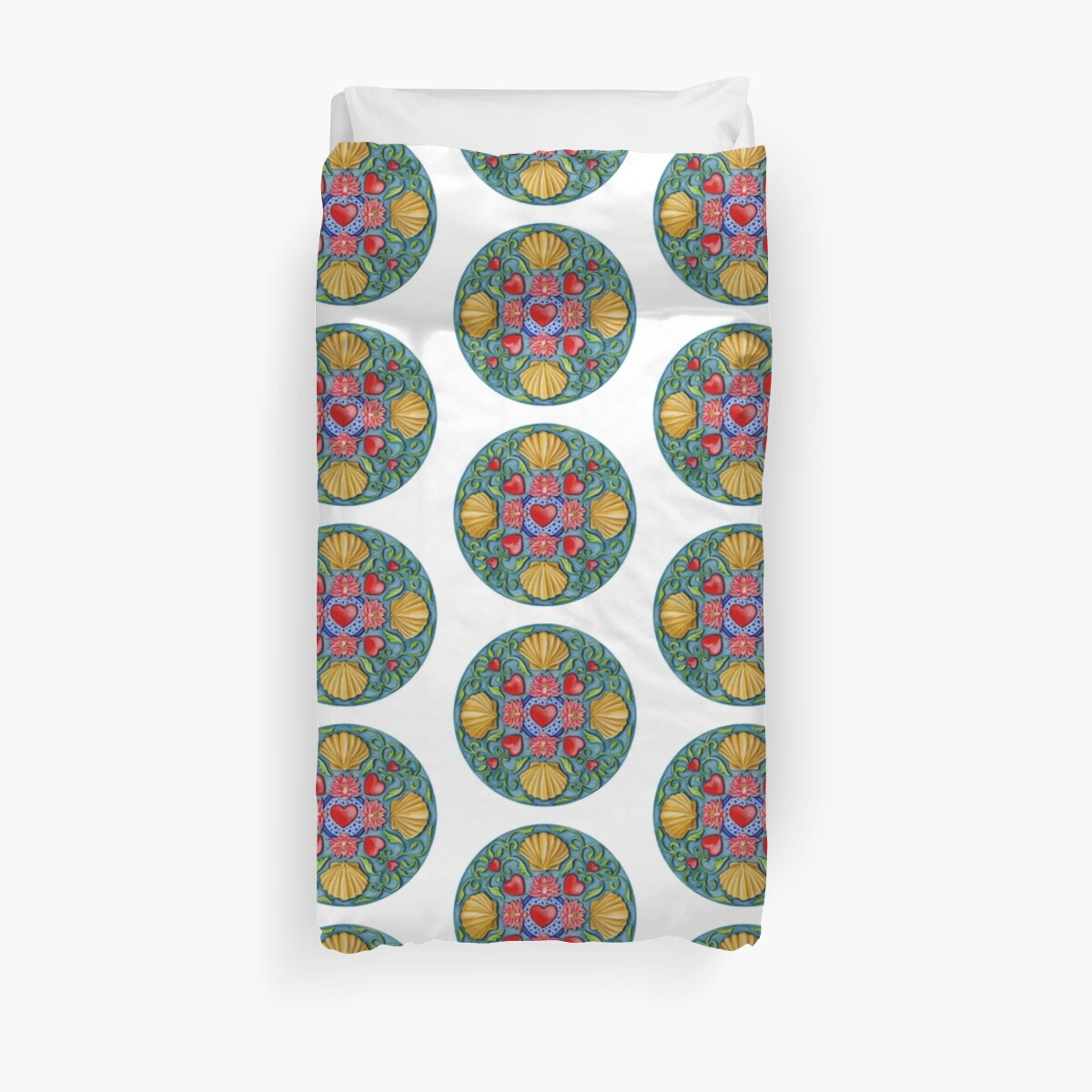 Quot Summer Love Quot Duvet Covers By Colette Van Der Wal Redbubble