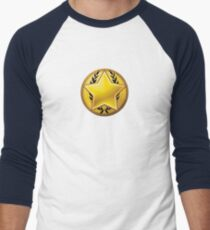 Loyalist halftone Men's Baseball ¾ T-Shirt
