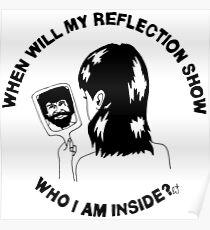 Bob Ross - Who I Am Inside Poster