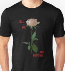 Demi Lovato - Tell Me You Love Me ROSE *Black* Unisex T-Shirt