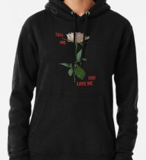 Demi Lovato - Tell Me You Love Me ROSE *Black* Pullover Hoodie