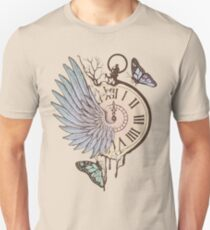 Le Temps Passe Vite (Time Flies) Unisex T-Shirt