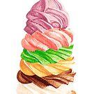 Seven-Layer Ice Cream by Rachel Davidson