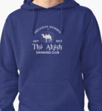 Drinking Club (Large Print): Akesh Merchandise Pullover Hoodie