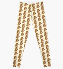The Leaning Tower of Pizza Leggings
