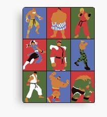 Street Fighting Crew Canvas Print