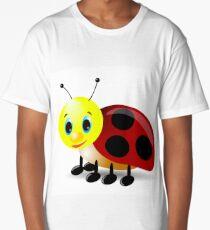 Cartoon caterpillar 3d Long T-Shirt