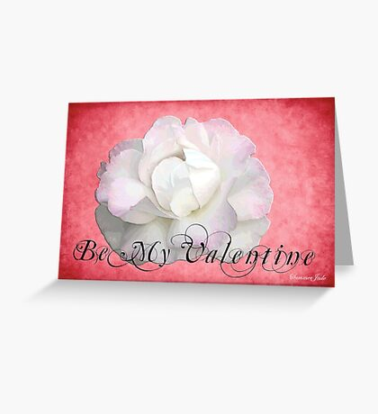 The White Rose ~ Purity and Secrecy Greeting Card