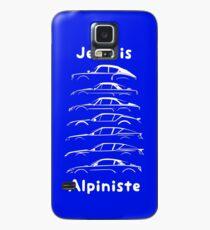 Je suis Alpiniste WHT Case/Skin for Samsung Galaxy