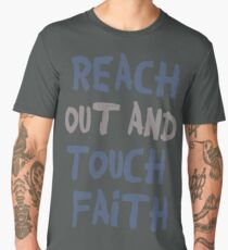 Reach out and touch faith! Men's Premium T-Shirt