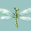 Cute Dragonfly by Cherie Roe Dirksen