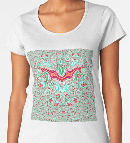 Abstract Bat Premium Scoop T-Shirt
