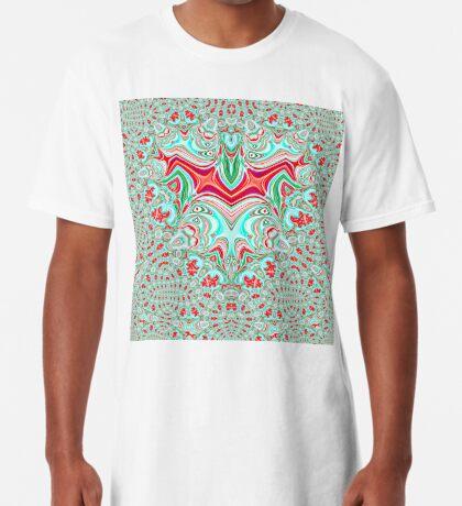 Abstract Bat Long T-Shirt