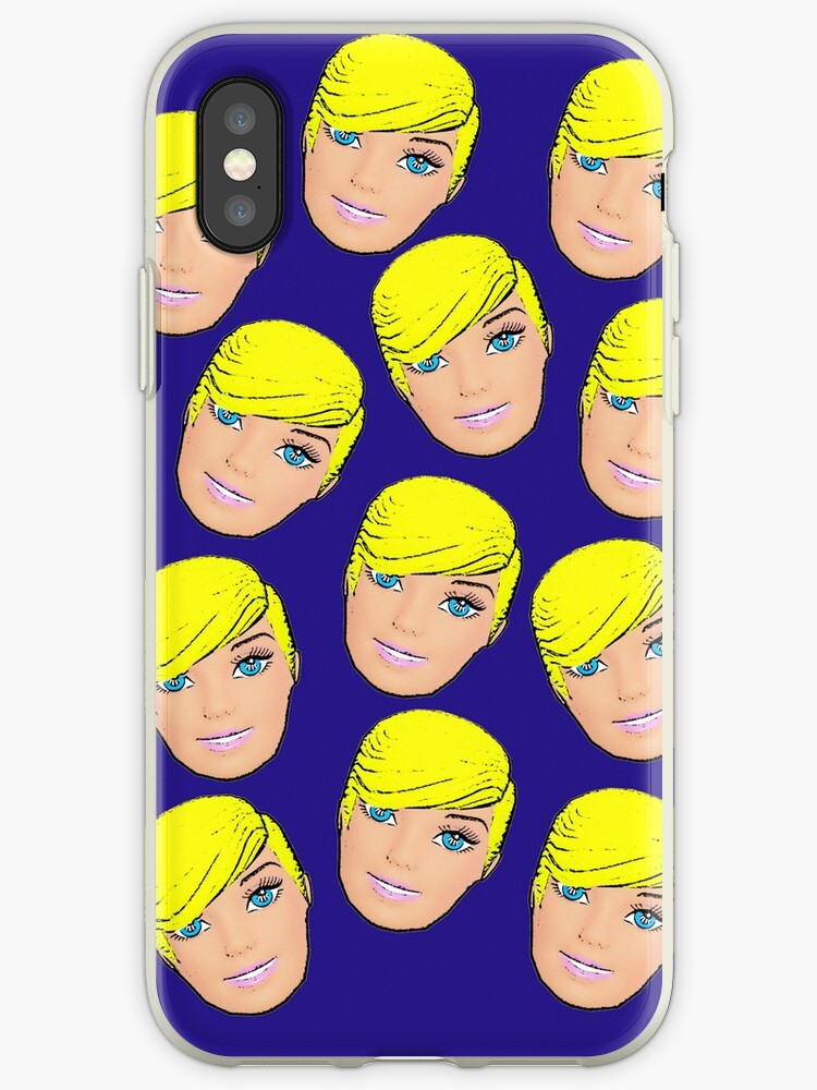 Short Blonde Hair Dont Care Pop Art Hairstyle Emoji Design