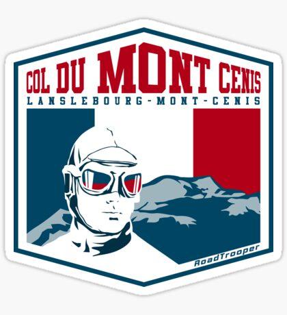 Route des Grandes Alpes France T-Shirt Sticker - Col du Mont Cenis 2 Sticker