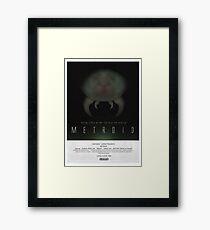 Below Zebes - Metroid Poster Framed Print