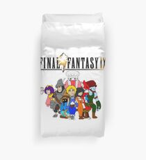 Final Fantasy 9 Characters Duvet Cover