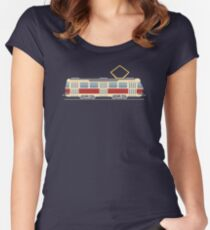 Tram Fitted Scoop T-Shirt