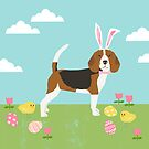 Beagle easter bunny spring dog gifts beagles must haves by PetFriendly