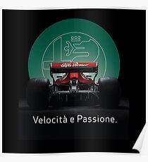 Alfa Romeo kehrt zu Formel 1 zurück Poster