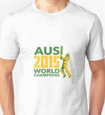 Australia AUS Cricket 2015 World Champions T-Shirt