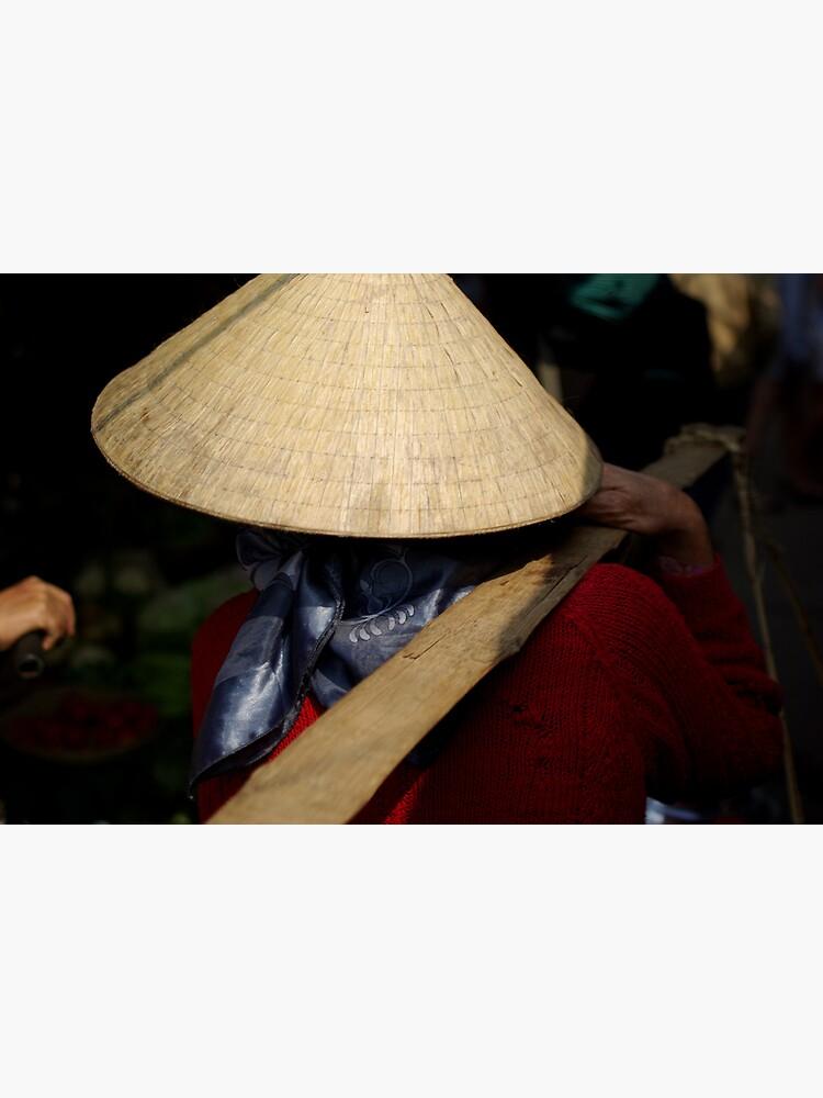 Vietnam Market Lady by alexsupertramp