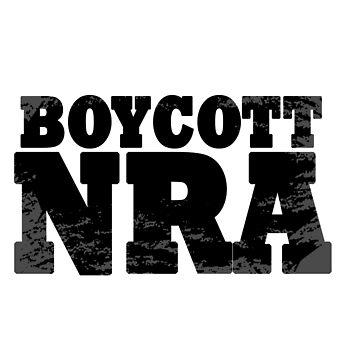 Boycott NRA by eadesignslab