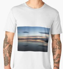 West Kirby Marine Lake  Men's Premium T-Shirt