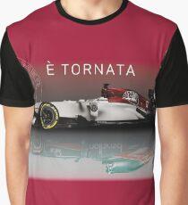 Alfa Romeo Formula 1 Returns Graphic T-Shirt
