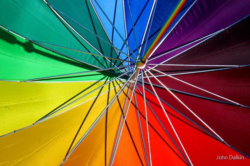 Rainbow Umbrella by John Dalkin