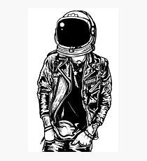 Spaceman Punk Photographic Print