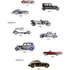 retro cars by ariadna de raadt