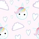 Cute Unicorn Pattern by JustTheBeginning-x (Tori)