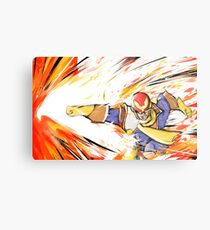 Captain Falcon | Falcon Punch Metal Print