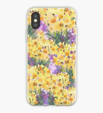 Yellow Daffodil Garden iPhone Case