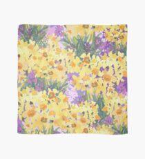 Yellow Daffodil Garden Scarf