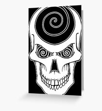 Hypnoskull Greeting Card