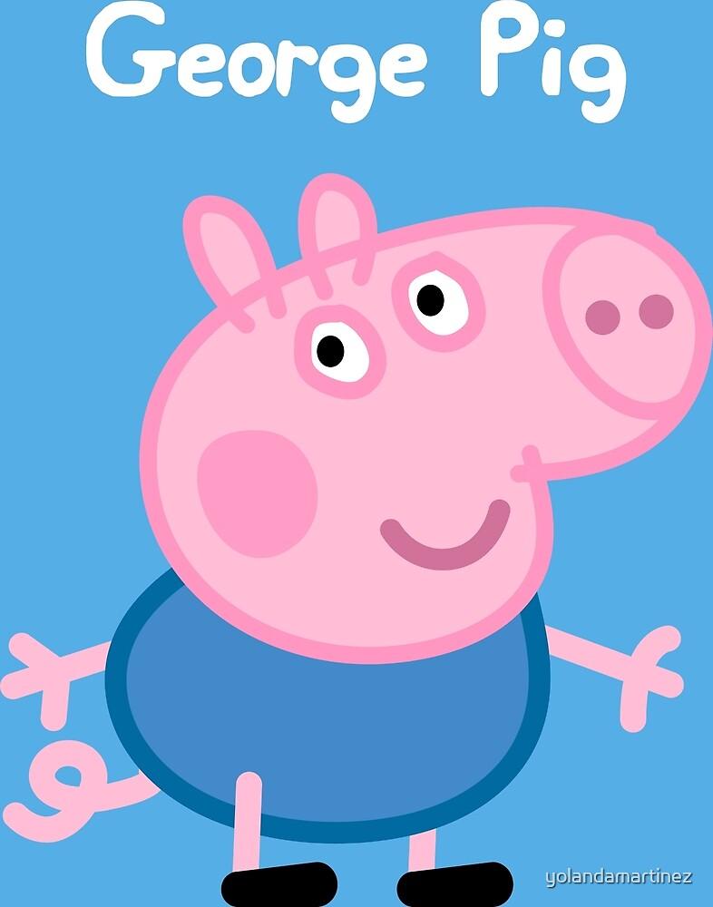George Pig by yolandamartinez