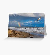 East Beach, Santa Barbara Greeting Card