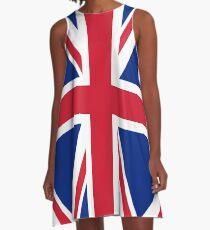 Union Jack A-Line Dress